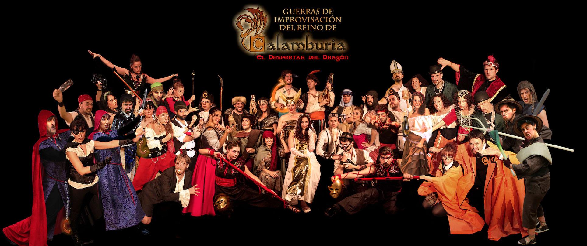 Grupo Calamburia Temporada I y II - Calambur teatro