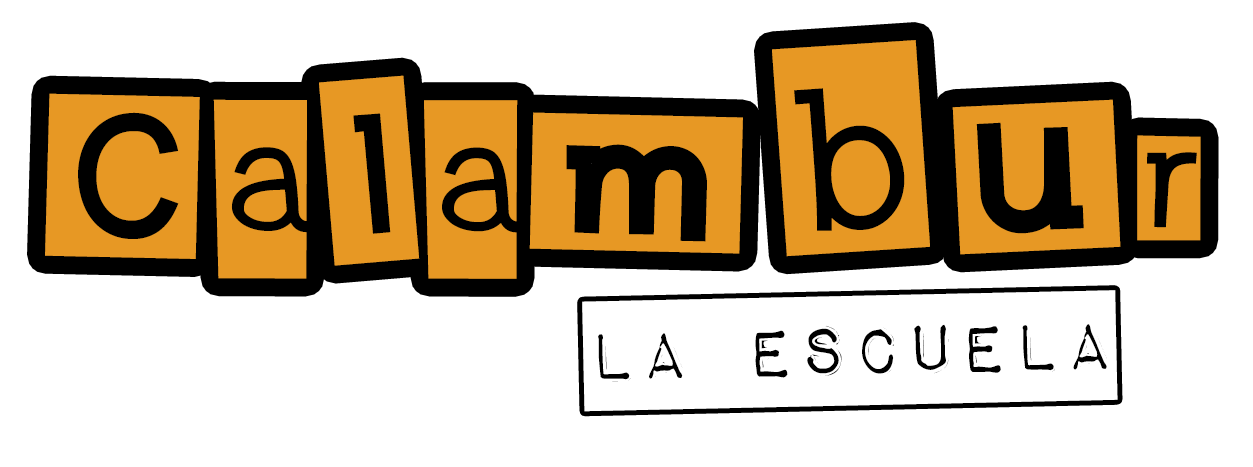 CALAMBUR LA ESCUELA LOGO