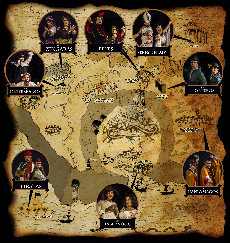 mapa cuadrado