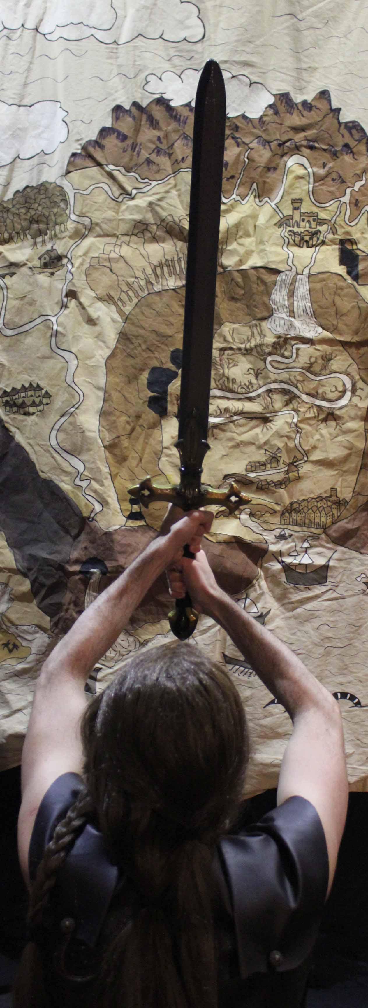 jurgi mercenario espada calambur impro