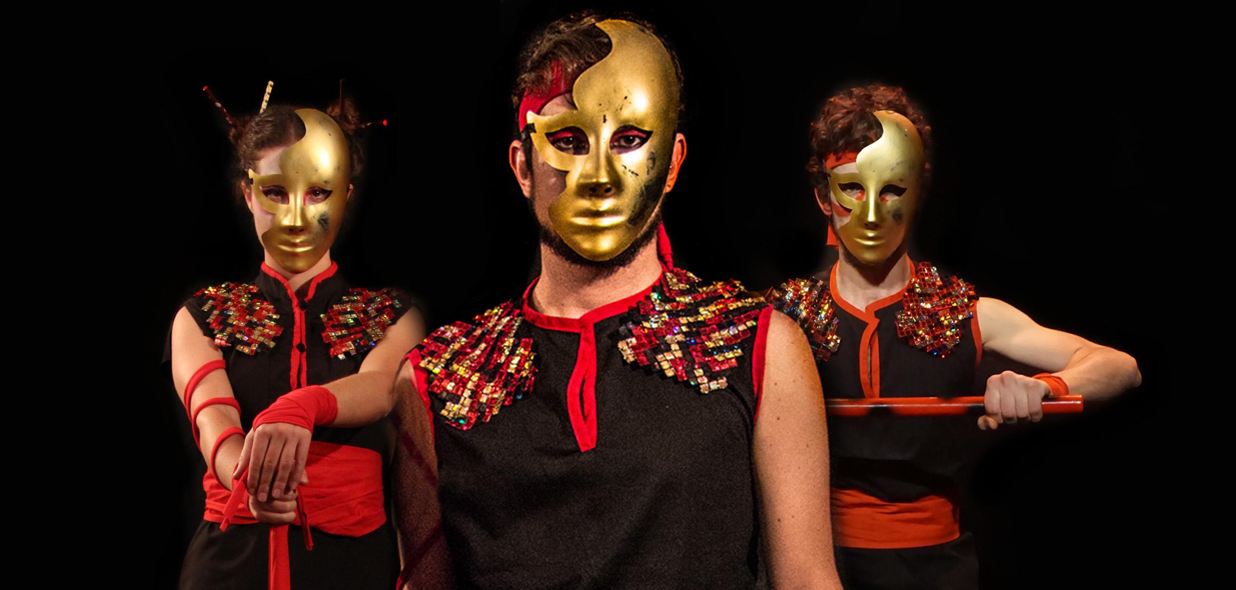 Hijos del Dragon mascaras Calamburia
