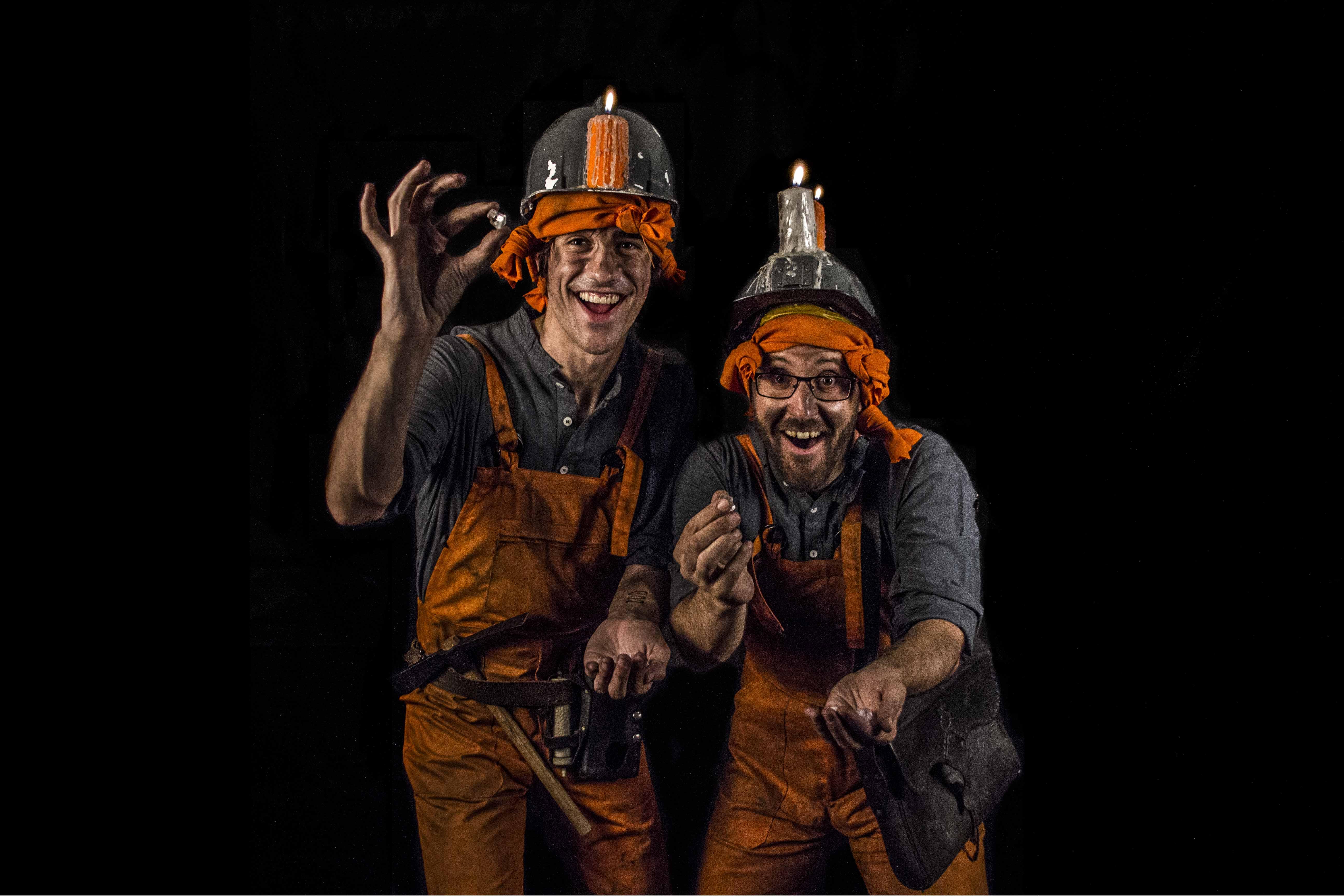 mineros descubrimiento piedras