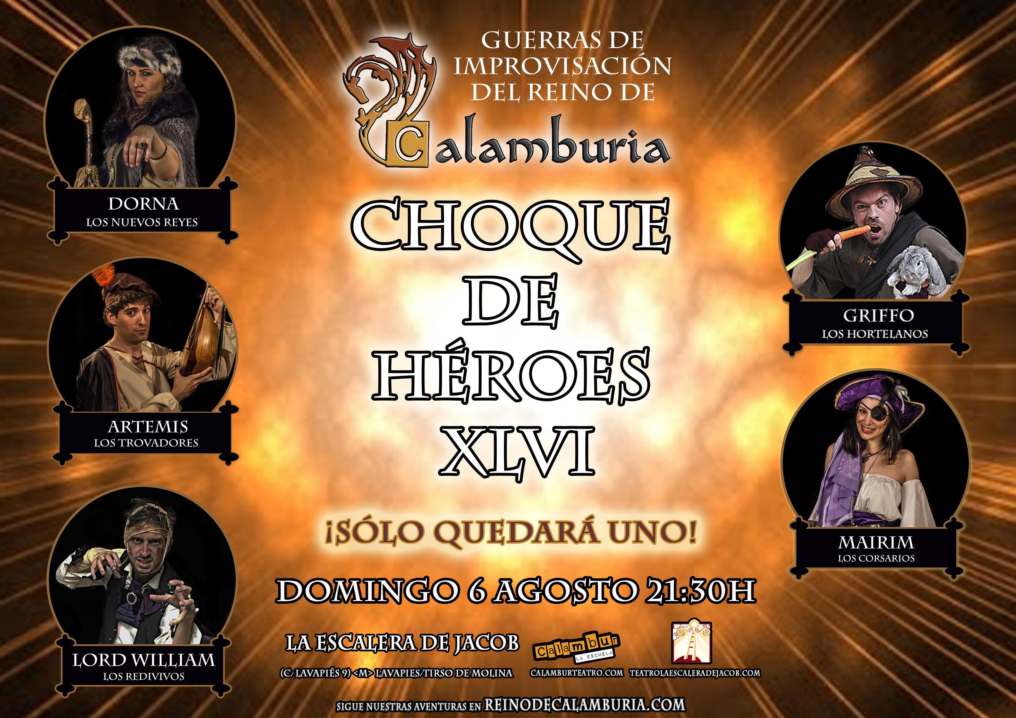 CHOQUE DE HEROES 46