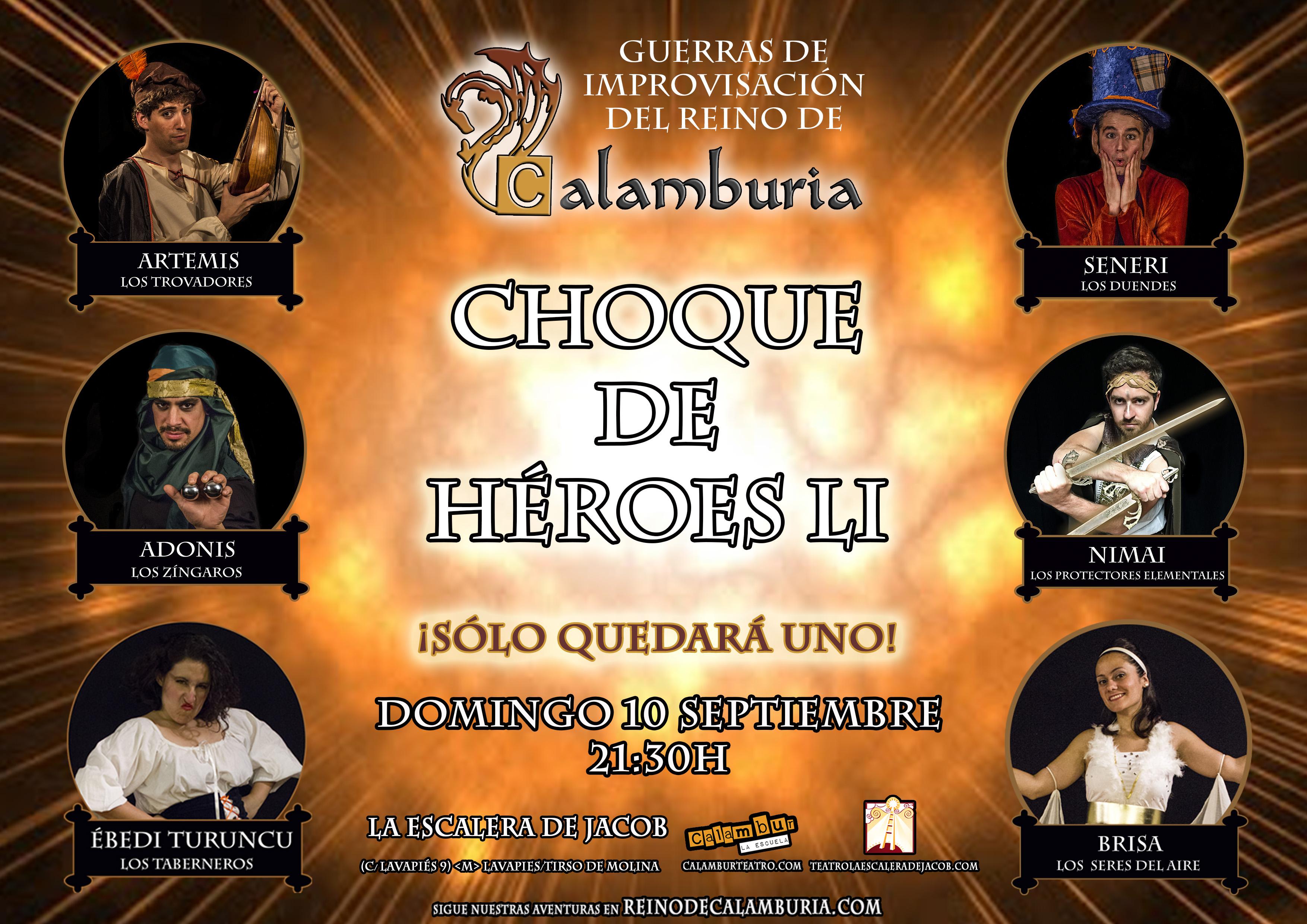 CHOQUE DE HEROES 51