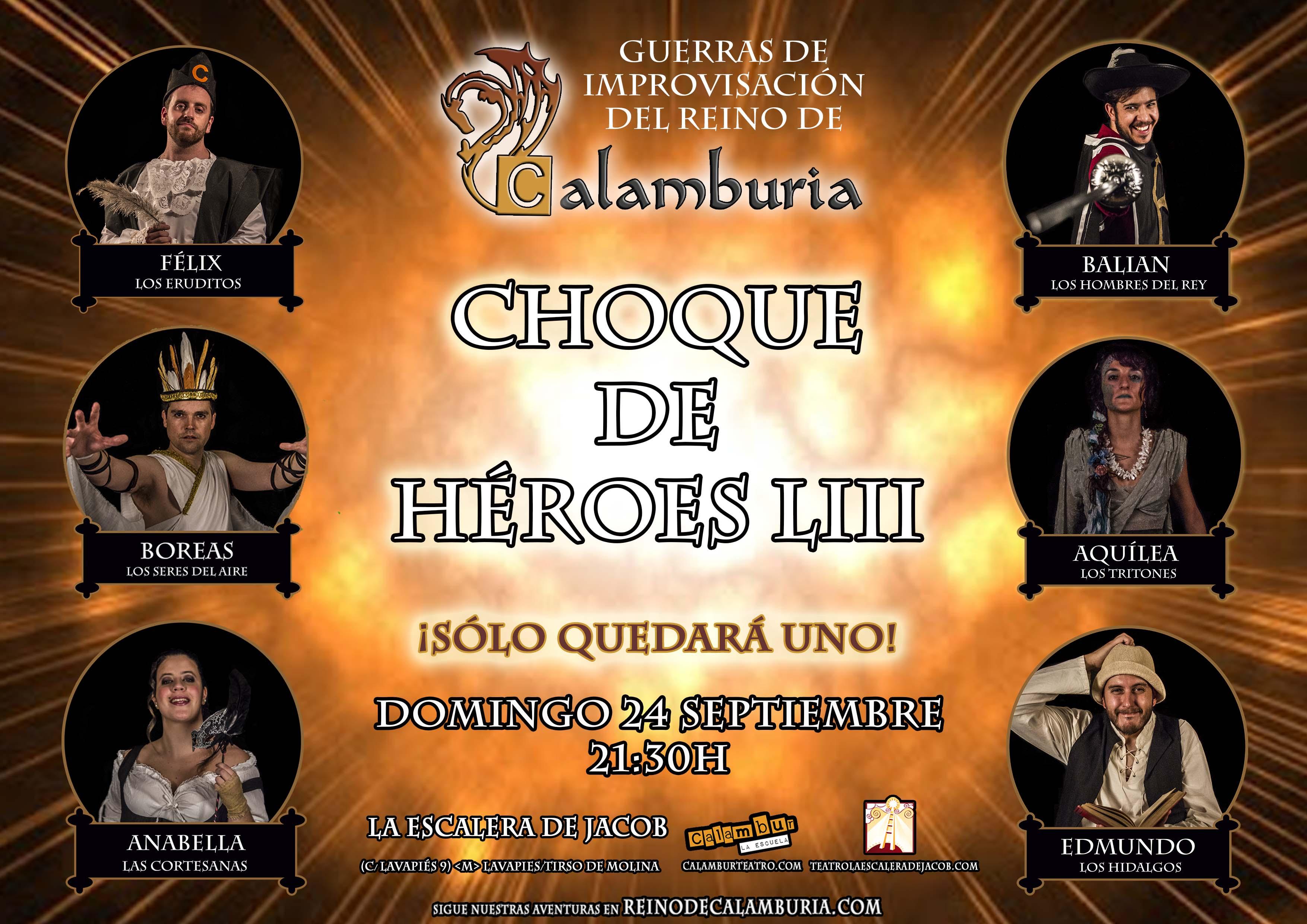 CHOQUE DE HEROES 53