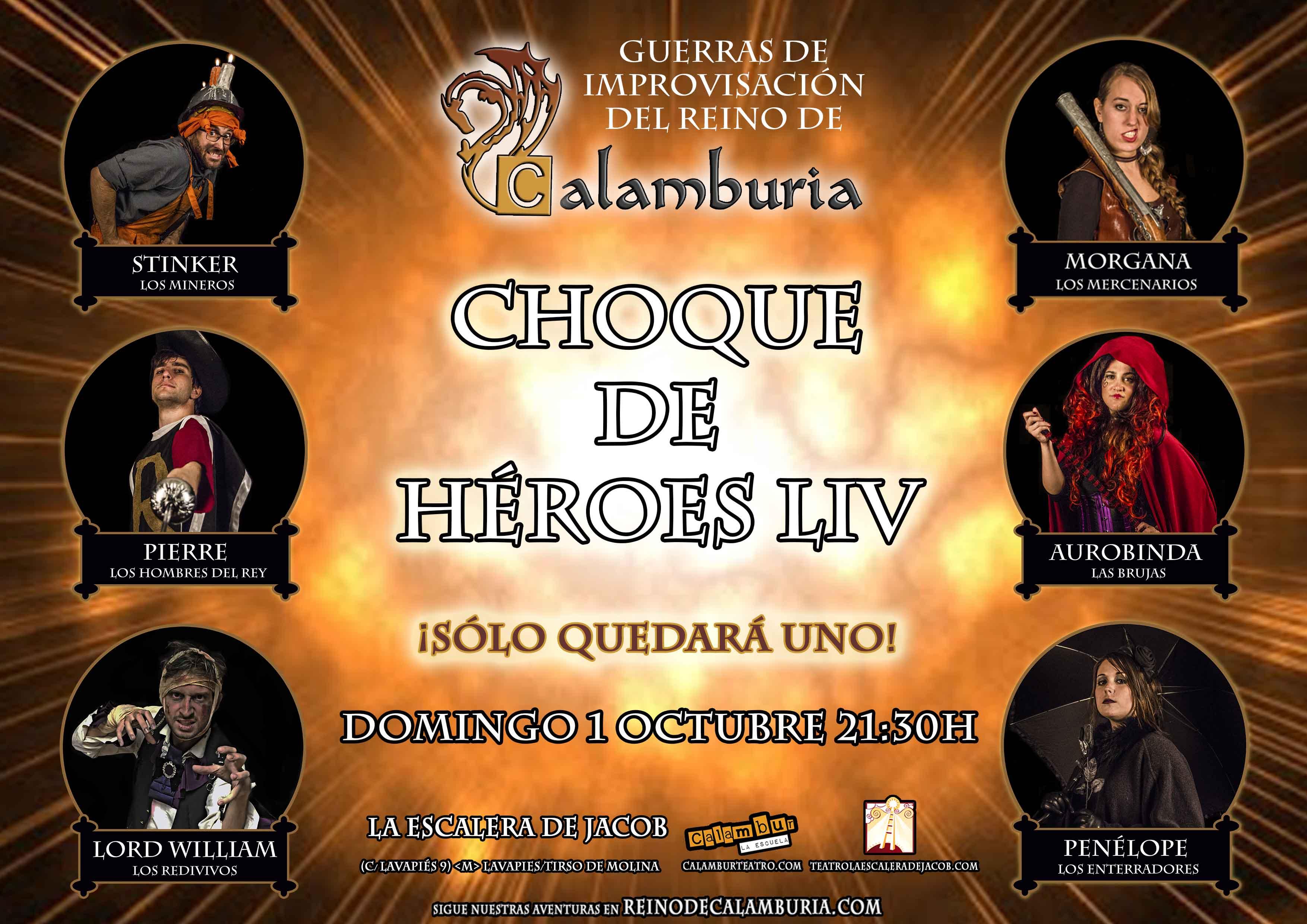 CHOQUE DE HEROES 54