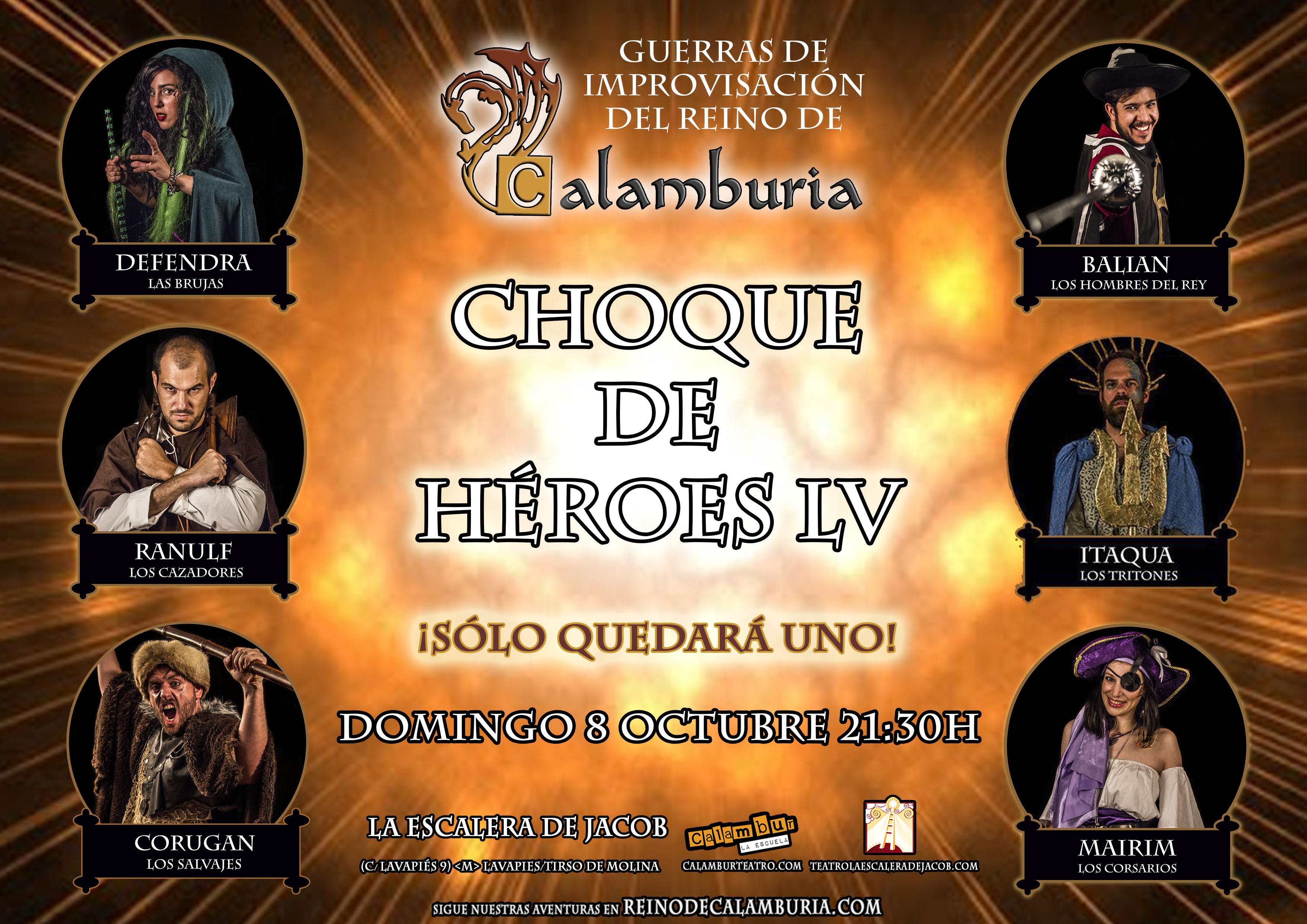 CHOQUE DE HEROES 55