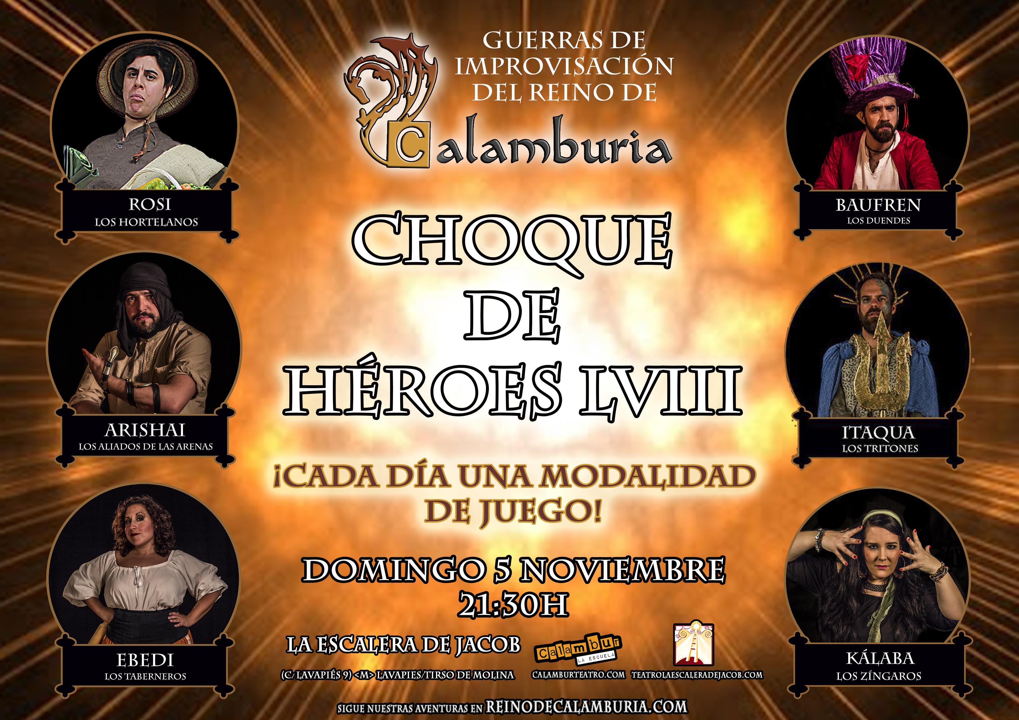 CHOQUE DE HEROES 58