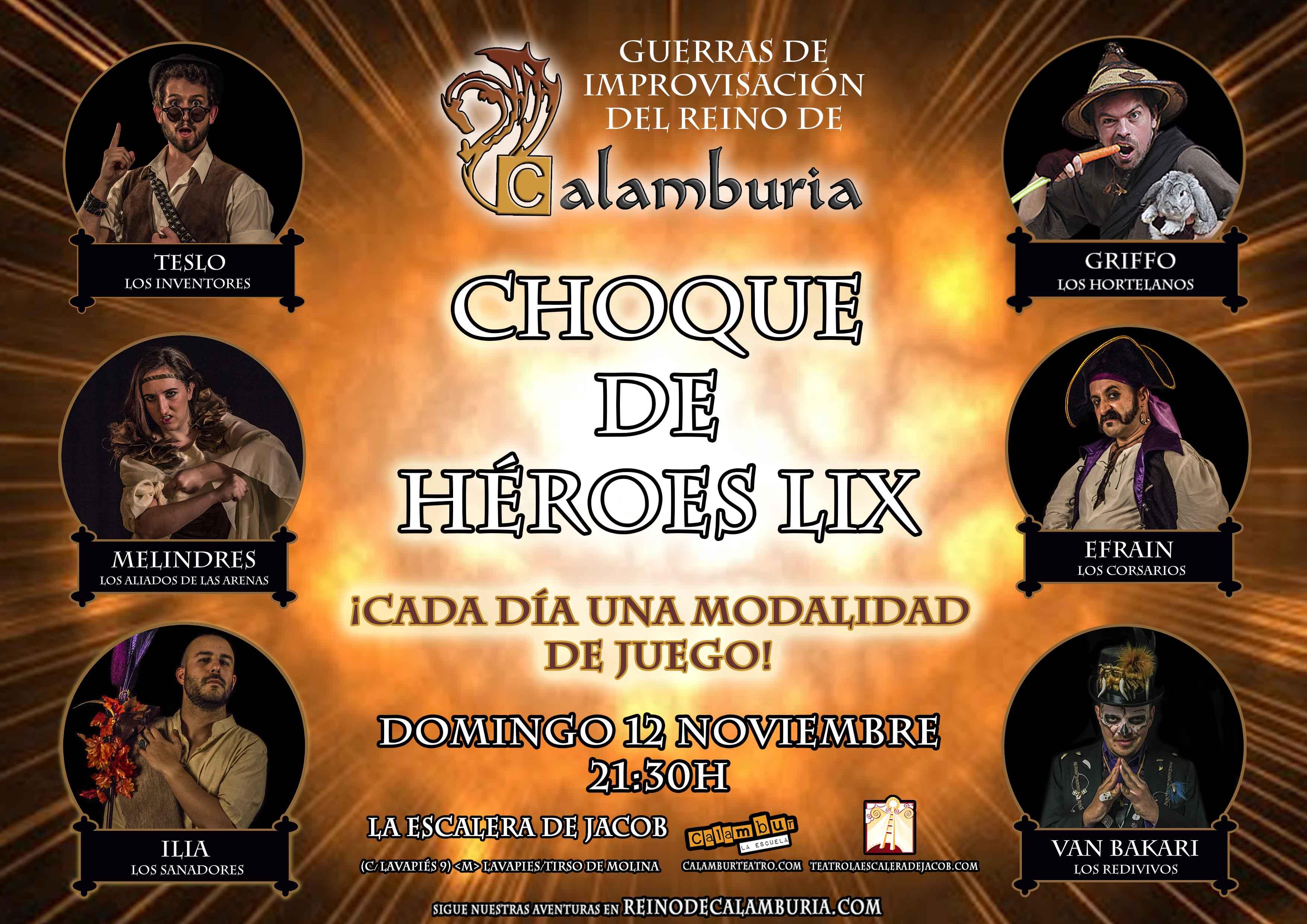 CHOQUE DE HEROES 59