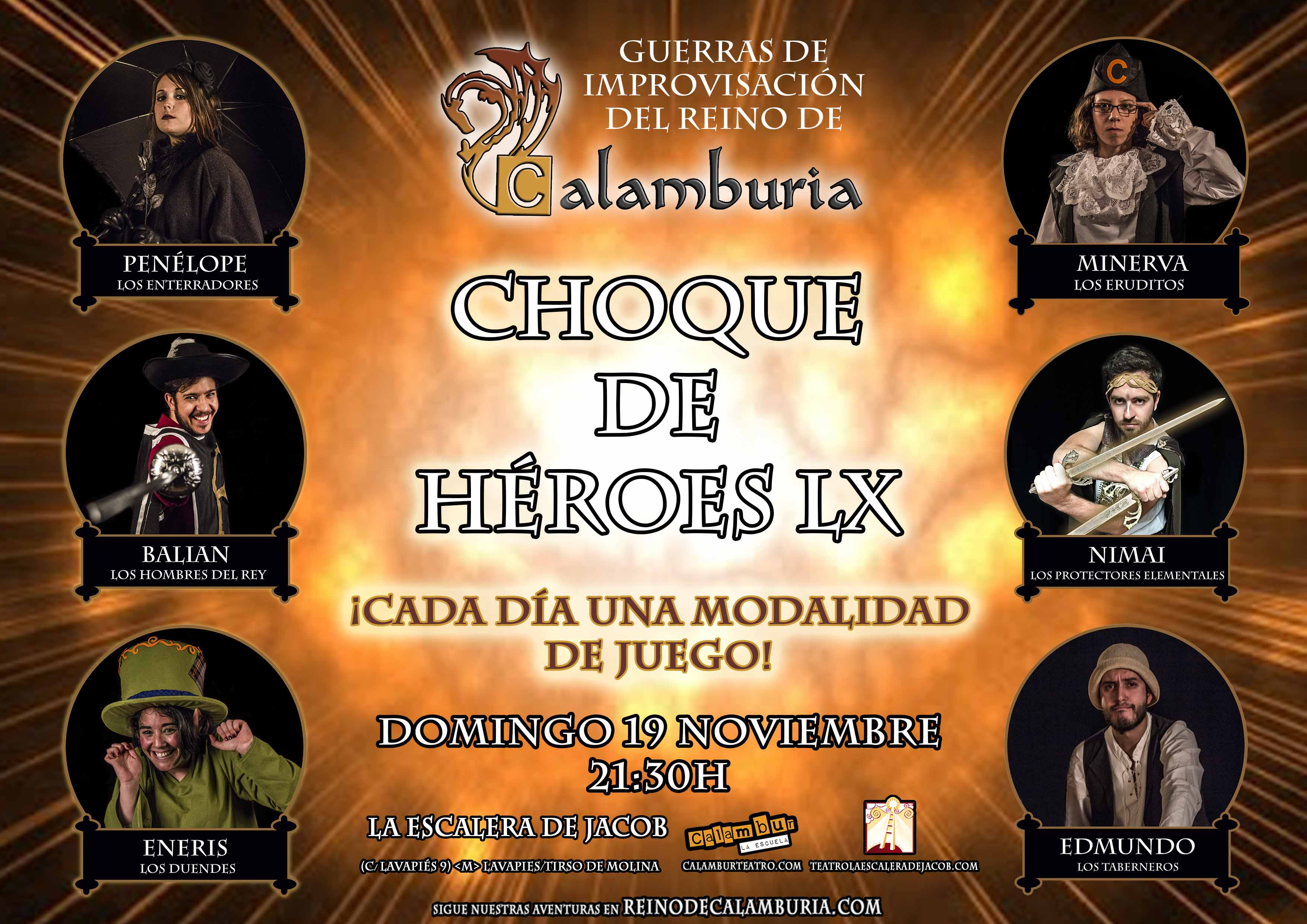 CHOQUE DE HEROES 60