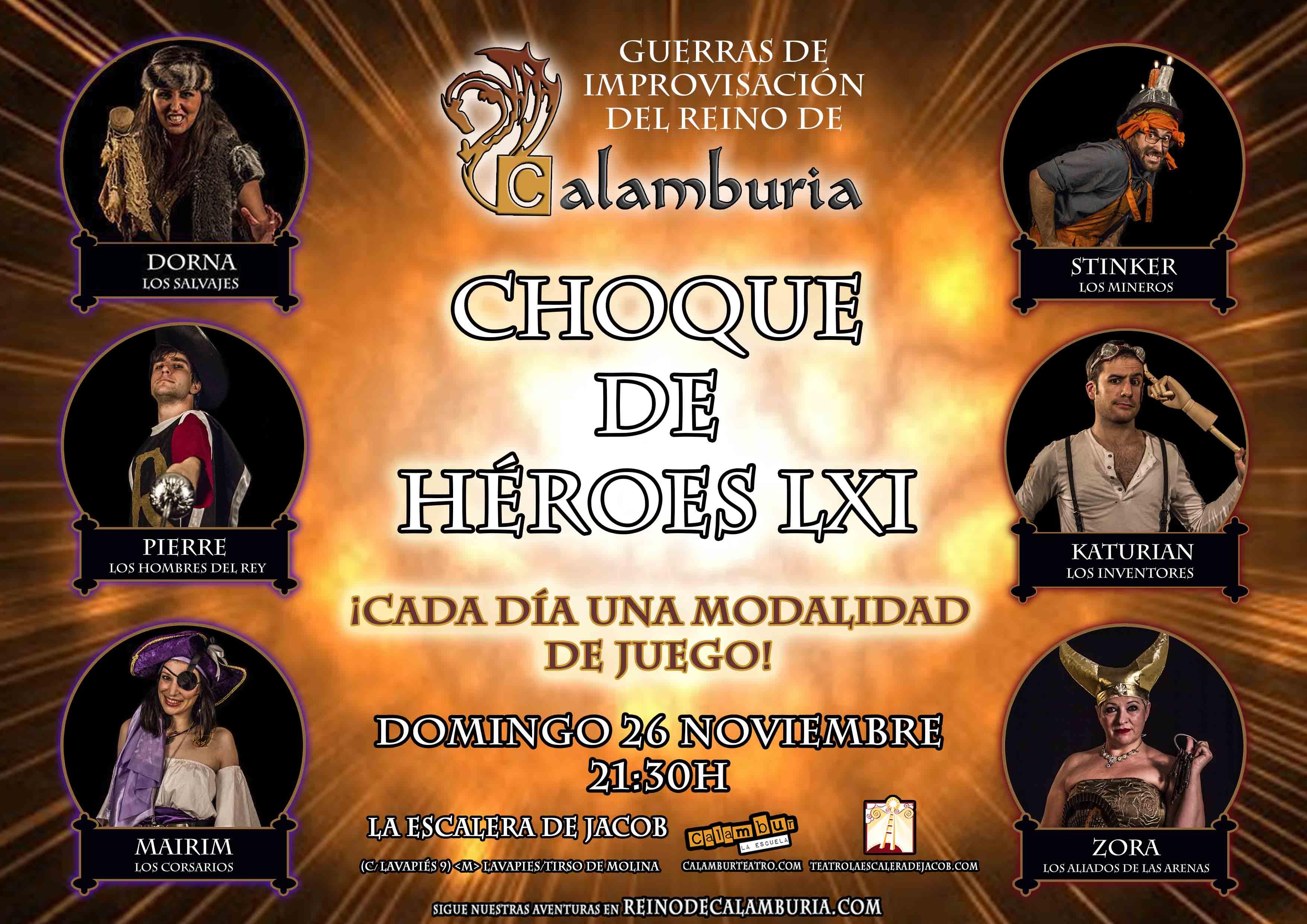 CHOQUE DE HEROES 61