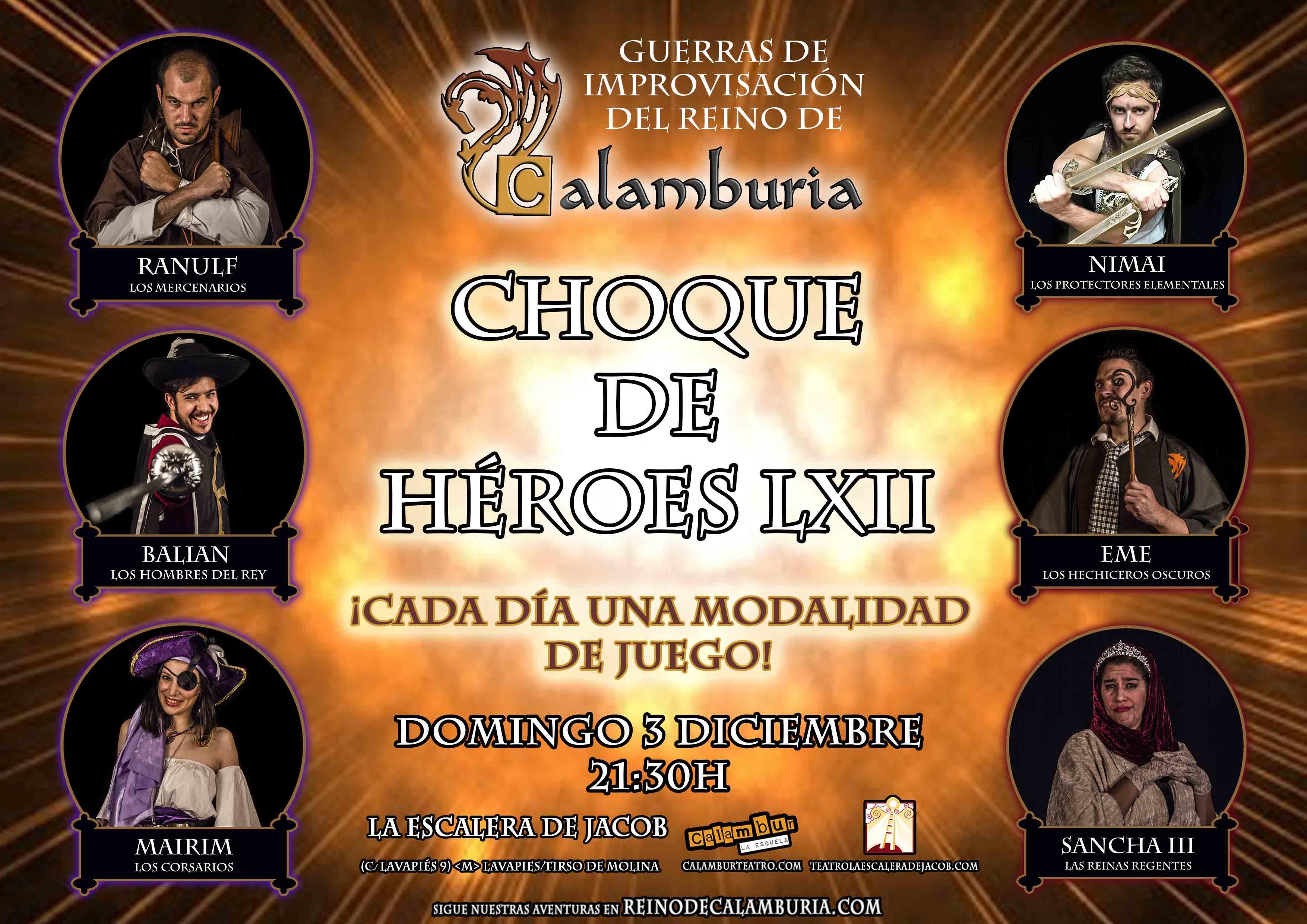 CHOQUE DE HEROES 62