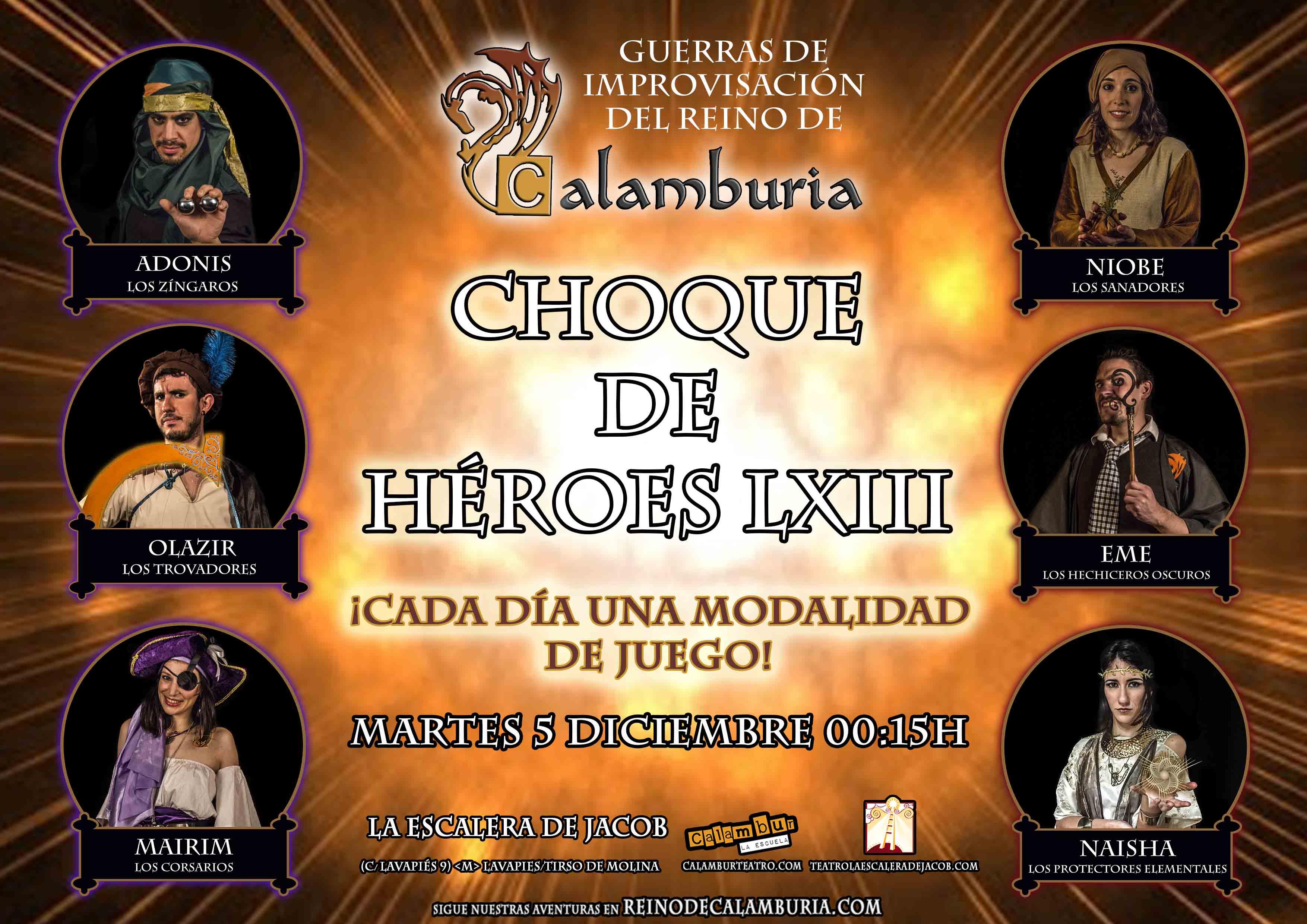 CHOQUE DE HEROES 63