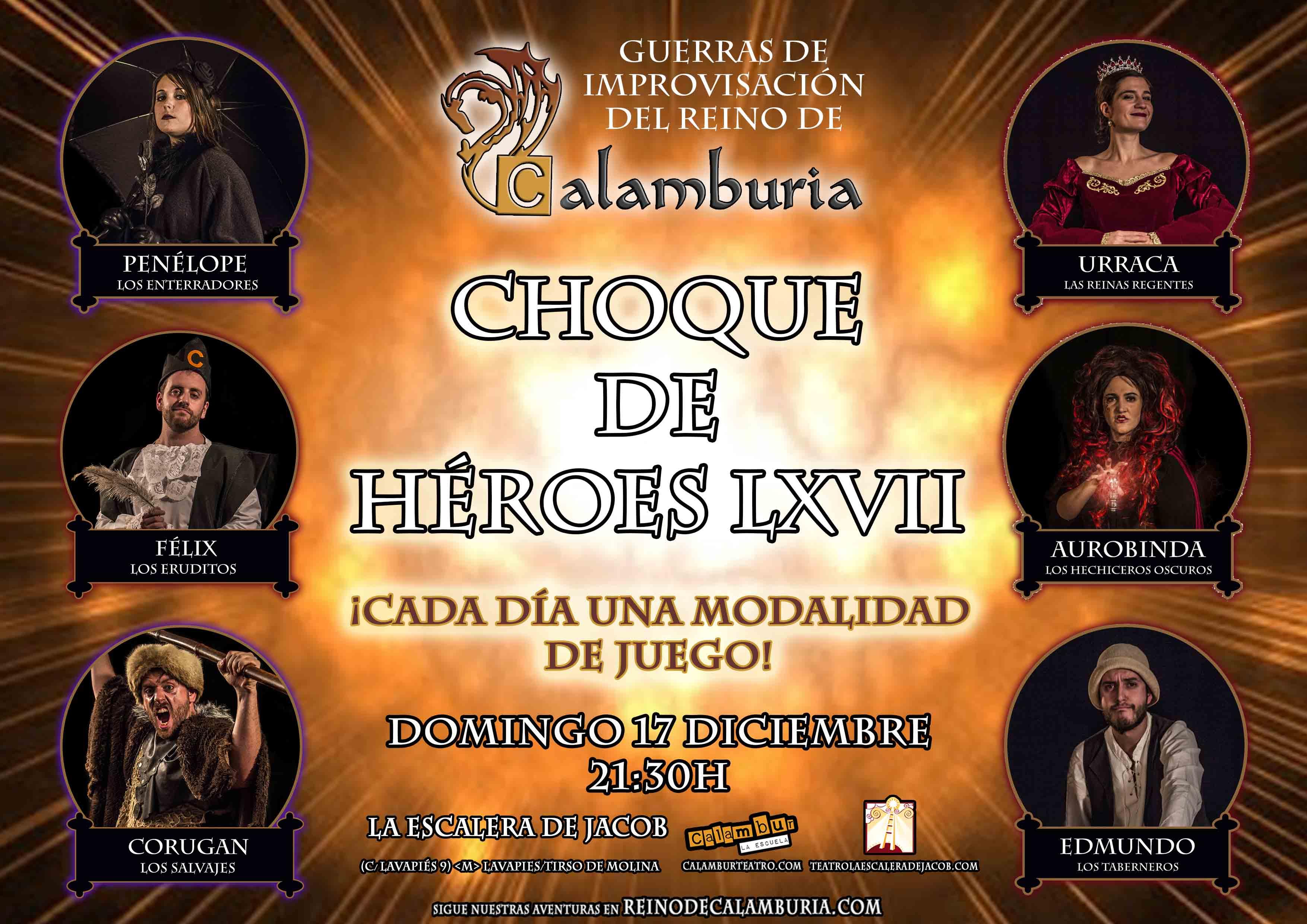 CHOQUE DE HEROES 67