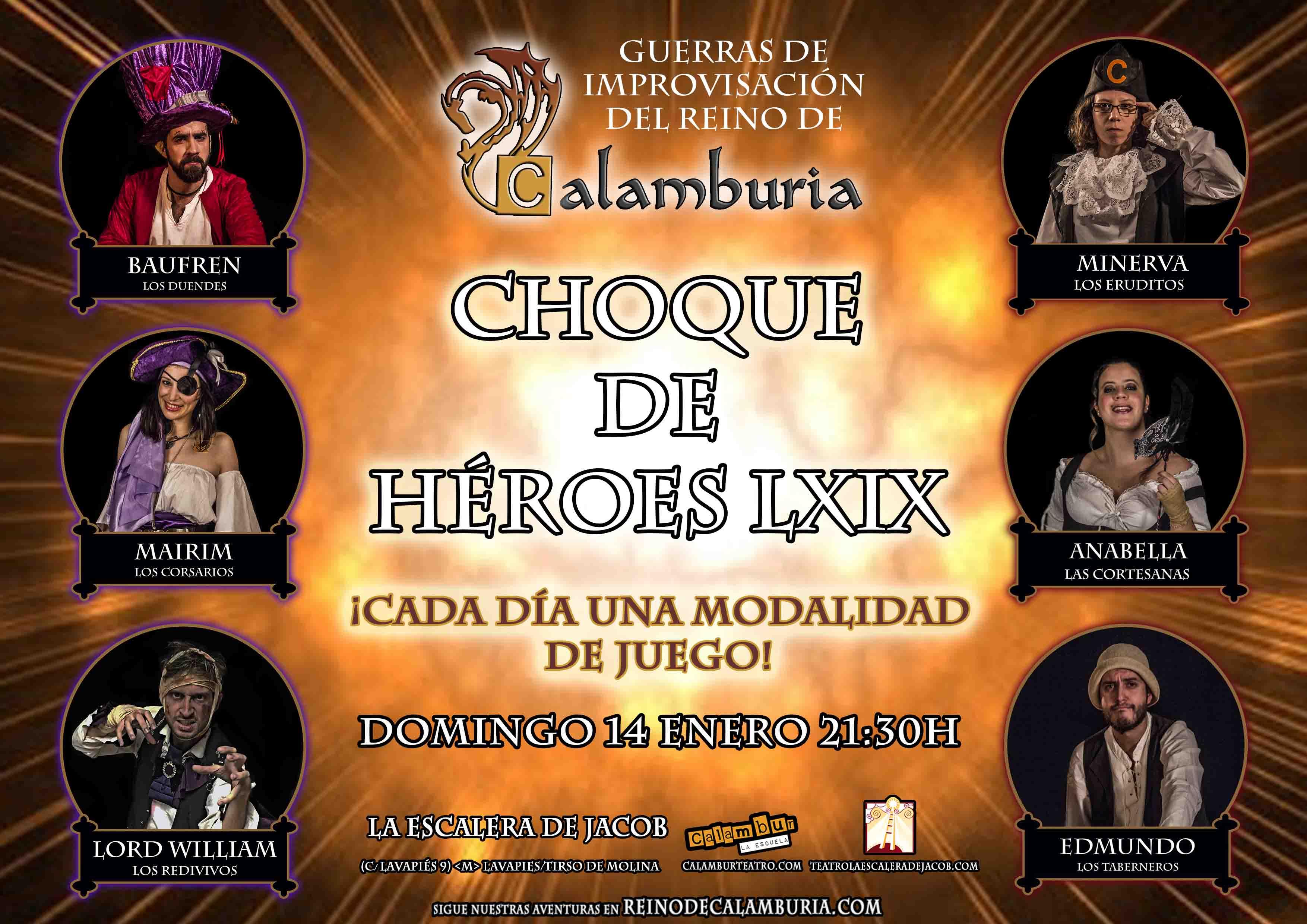 CHOQUE DE HEROES 69
