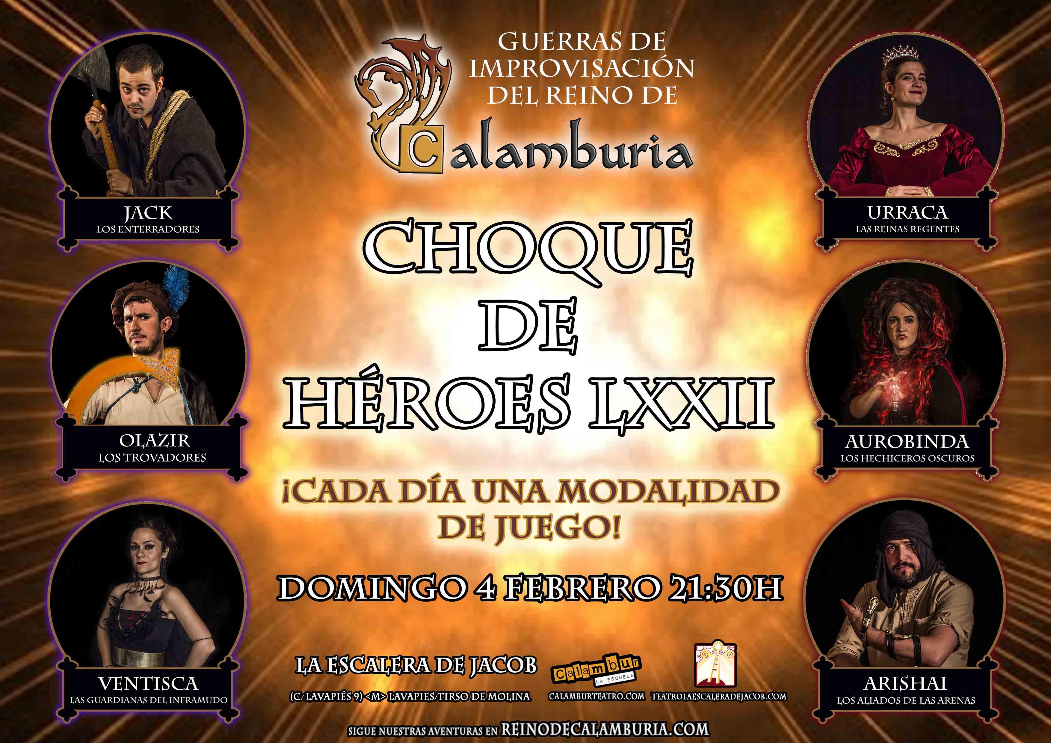 CHOQUE DE HEROES 72