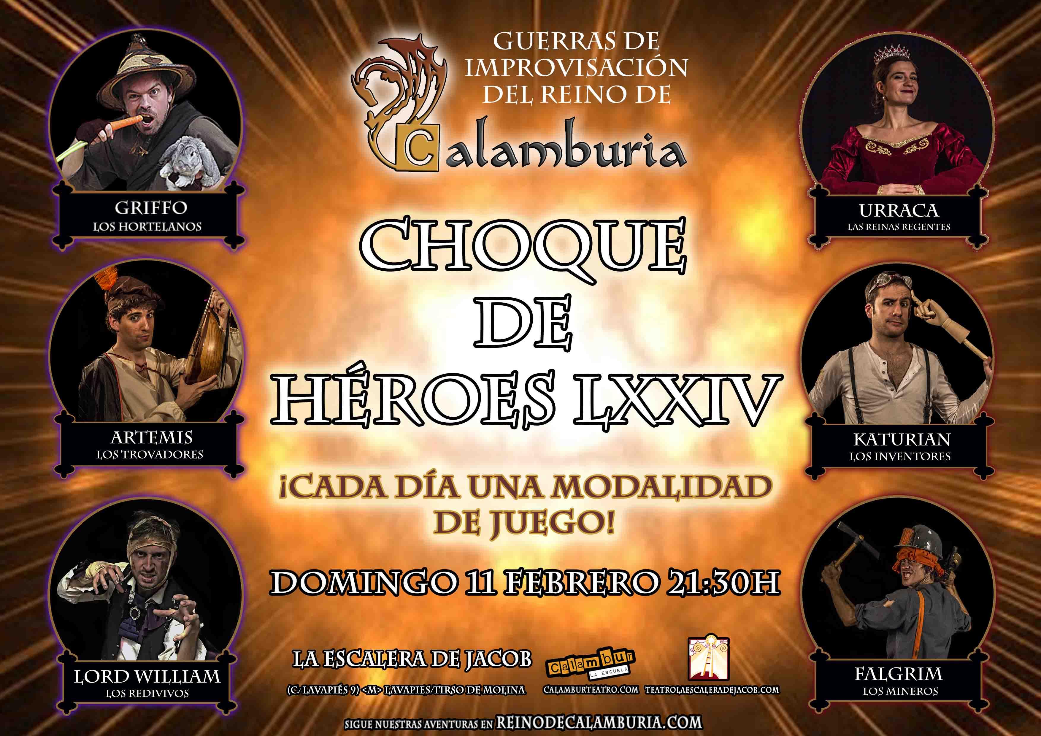 CHOQUE DE HEROES 74